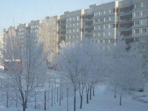 В Тольятти пришла зима