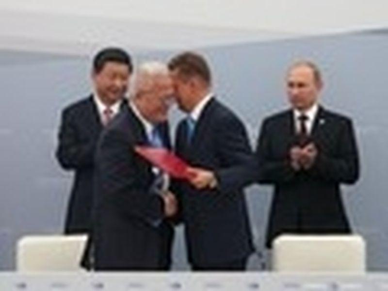 «Газпром» подпишет с Китаем контракт о поставках газа