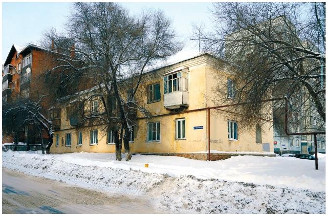В Тольятти появился аварийный дом